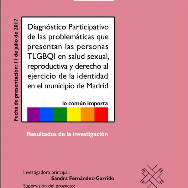 TLGBQI Salud Sexual, Reproductiva, Derechos